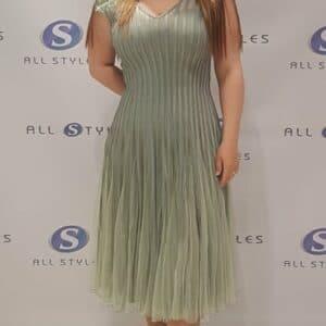 Midi Length Elegant Dress