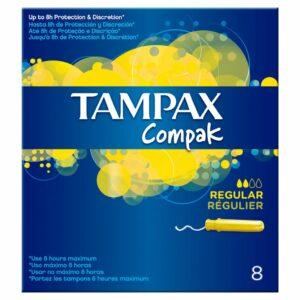 TAMPAX COMPAK REGULAR x8