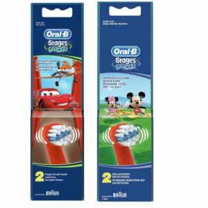 ORAL B POWER BRUSH HEAD STAGES KIDS x2s (BOYS)