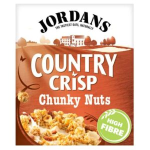 CEREALS - JORDAN'S COUNTRY CRISP CHUNKY NUTS 500G