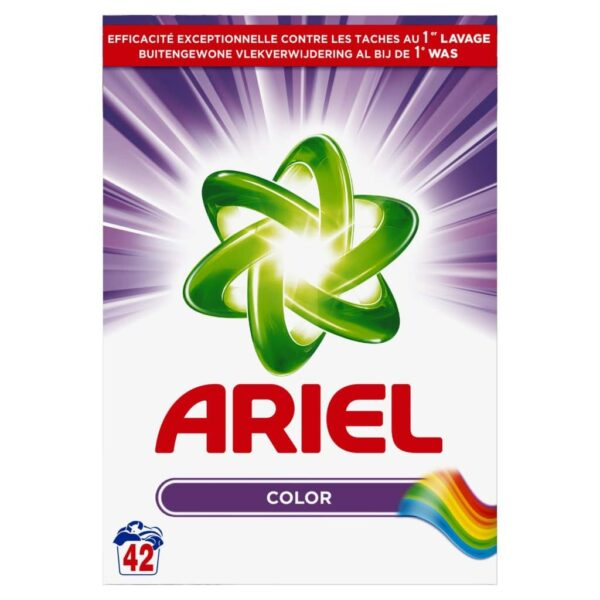 ARIEL COLOR, 42 WASHES, 2.73KG (NEW)