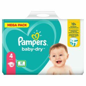 PAMPERS MEGA PACK BD 4 MAXI x88 (NEW)