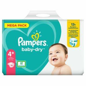 PAMPERS MEGA PACK BD 4+ MAXI PLUS x82 (NEW)