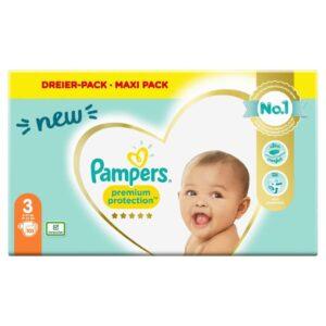PAMPERS MEGA NEW BABY 3 MIDI X105 (NEW)