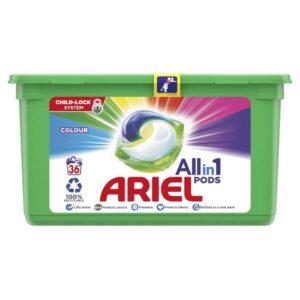ARIEL PODS COLOR, 36 WASHES (23.8GR)