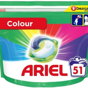 ARIEL PODS COLOR, 51 WASHES (23.8GR) (NEW)