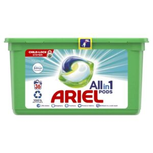 ARIEL PODS WITH FEBREZE, 36 WASHES (25.2GR)