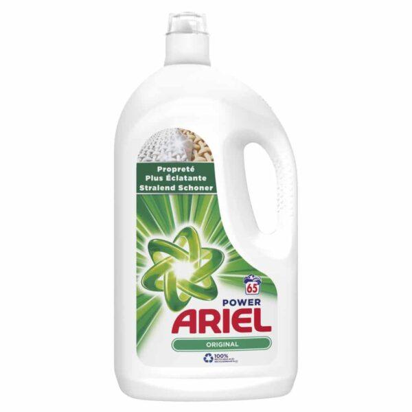 ARIEL LIQUID REGULAR, 65 WASHES, 3.575L (NEW)