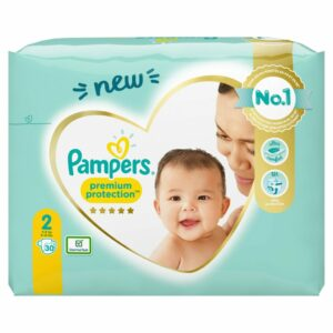 PAMPERS CP NEW BABY 2 MINI X30 (YELLOW PK) (NEW)