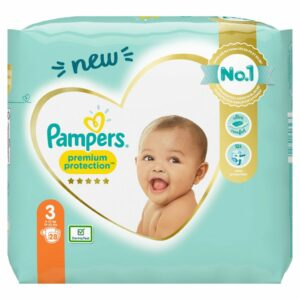 PAMPERS CP NEW BABY 3 MIDI X28 (YELLOW PK) (NEW)
