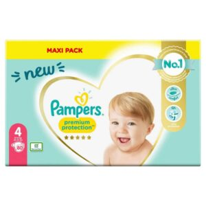 PAMPERS MEGA NEW BABY 4 MAXI X80 (NEW)