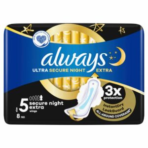 ALWAYS ULTRA EXTRA SECURE NIGHT PLUS BY 8 (NEW)