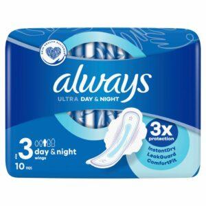 ALWAYS ULTRA NIGHT X10 (NEW)
