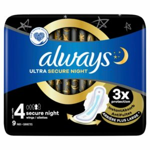 ALWAYS ULTRA SECURE NIGHT PLUS X9 (NEW)