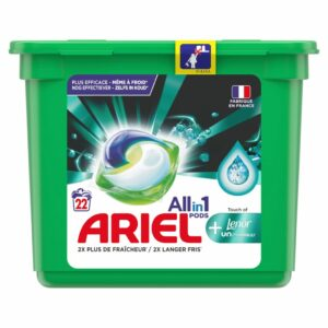 ARIEL PODS + UNSTOPPABLES, 22 WASHES (25.1GR) (NEW)