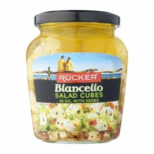 CHEESE - BIANCELLO SALAD CUBES WITH HERBS 300G