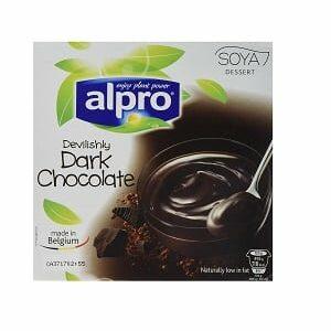 YOGURT - ALPRO DESSERT DARK CHOCOLATE X4