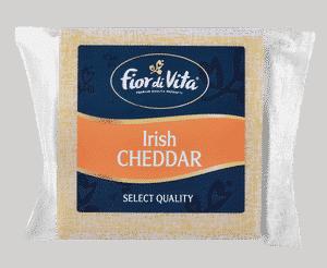 CHEESE - FIOR DI VITA IRISH CHEDDAR BLOCK X 150GR