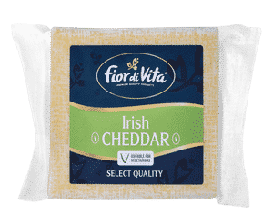 CHEESE - FIOR DI VITA IRISH CHEDDAR (VEG) BLOCK X 150GR