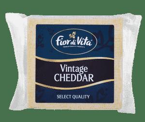 CHEESE - FIOR DI VITA VINTAGE CHEDDAR BLOCK X 150GR