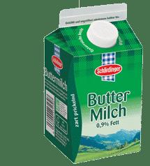 MILK - SCHARDINGER BUTTER MILK 0.9% 500ML
