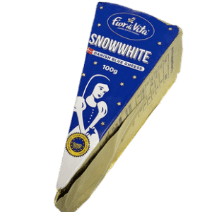 CHEESE - FIOR DI VITA SNOWWHITE DANISH BLUE CHEESE IN FOIL X 100GR