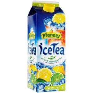 ICE TEA - PFANNER LEMON LIME 2LTR