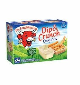 CHEESE - DIP & CRUNCH THE LAUGHING COW