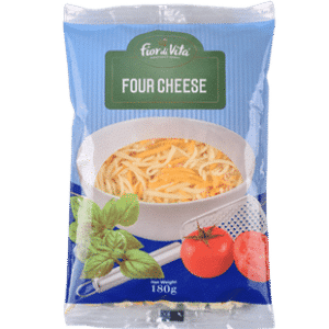 CHEESE - FIOR DI VITA FOUR CHEESE SHREDDED