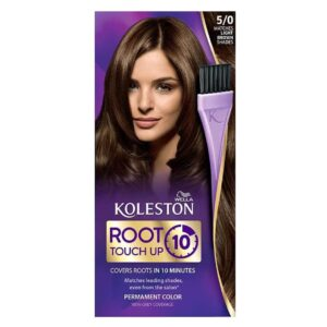 WELLA KOLESTON ROOT TOUCH UP IN 10 MINUTES - 50 LIGHT BROWN (NEW)