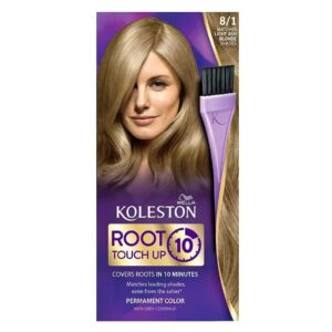 WELLA KOLESTON ROOT TOUCH UP IN 10 MINUTES - 81 LIGHT ASH BLONDE (NEW)