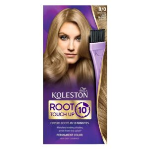 WELLA KOLESTON ROOT TOUCH UP IN 10 MINUTES - 80 LIGHT BLONDE (NEW)