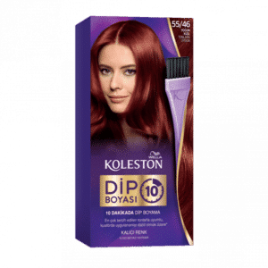 WELLA KOLESTON ROOT TOUCH UP IN 10 MINUTES - 5546 INTENSE RED (NEW)