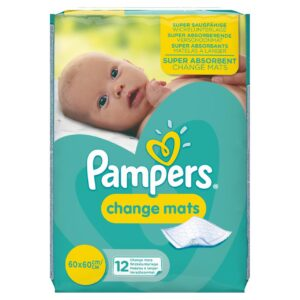 PAMPERS CHANGE MATS (By 12 mats)