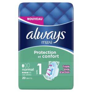 ALWAYS MAXI NORMAL PLUS BY 20