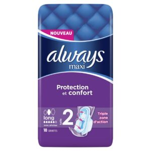 ALWAYS MAXI LONG PLUS BY 18