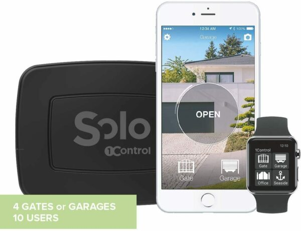 1CONTROL SOLO - OPENING CONTROL FOR GATES AND GARAGE (NEW)