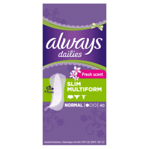 ALWAYS LINERS FLEXISTYLE BY 40