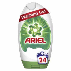 ARIEL WASHING GEL ORIGINAL, 24 WASHES, 888ML (NEW)