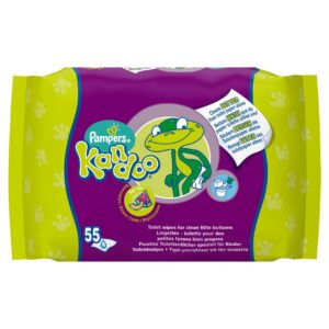 PAMPERS KANDOO TOILET WIPES FOR CHILDREN (By 55 wipes)