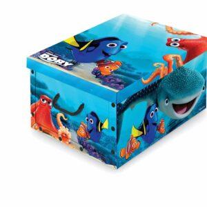 DOMOPAK BOX WITH HANDLES - DISNEY ASSORTED 50 x 39 x 24 cm