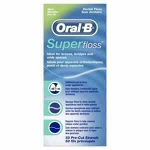 ORAL B FLOSS SUPER (50M)
